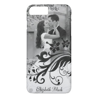 Black White Photo Template iPhone 7 Plus Case