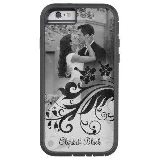 Black White Photo Template Tough Xtreme iPhone 6 Case