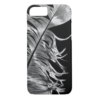 Black & White Photographic Feather Art iPhone 8/7 Case