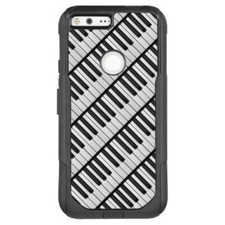 Black & White Piano Keys OtterBox Commuter Google Pixel XL Case