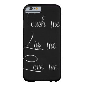 Black White Quote Love Kiss Iphone Case