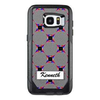 Black & White Radiation by Kenneth Yoncich OtterBox Samsung Galaxy S7 Edge Case