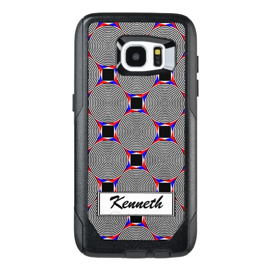 Black & White Radiation by Kenneth Yoncich OtterBox Samsung Galaxy S7 Edge Case