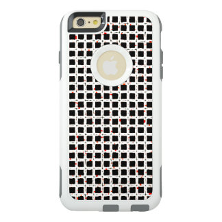 Black White Red Abstract Chic Pattern OtterBox iPhone 6/6s Plus Case