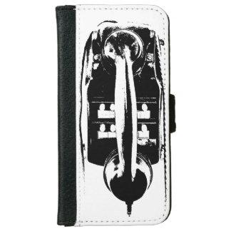 Black & White Retro Phone - Phone cases