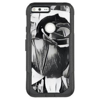 Black & White Rose Google Pixel XL Otterbox Case