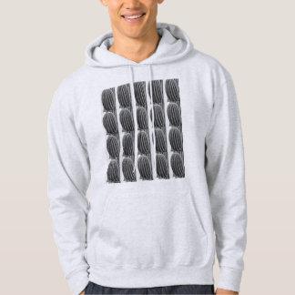 Black & White Saguaro Men's Hoodie