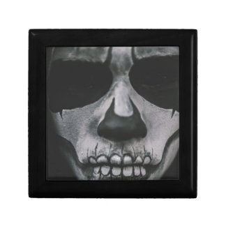 Black & White Scary Face... Gift Box