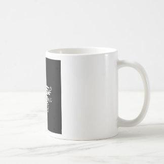 Black white Siberia Nordic ornaments Coffee Mug