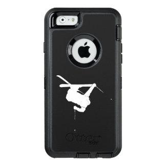 Black & White Skier OtterBox iPhone 6/6s Case