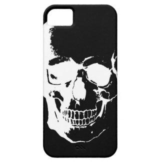 Black & White Skull iPhone 5 Cover