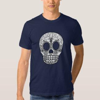 Black/White Skull T-shirt