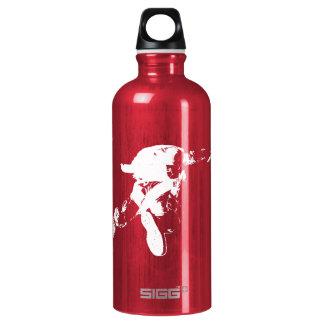 Black & White Skydiving Water Bottle