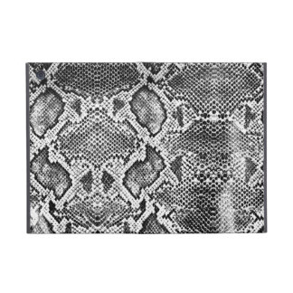 Black & White Snakeskin pattern Case For iPad Mini