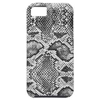 Black & White Snakeskin Pattern iPhone 5 Cover