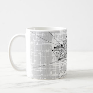 Black & White Social Media Serie Coffee Mug