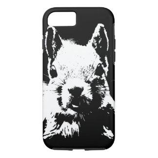 Black & White Squirrel iPhone 7 Case