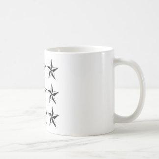 Black & White Stars Mugs