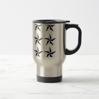 Black & White Stars Mug