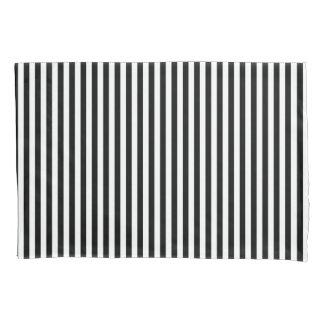 Black&White Stripes Pillow Case