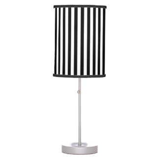 Black&White Stripes Table Lamp
