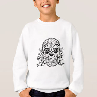 Black & White Sugar Skull Sweatshirt