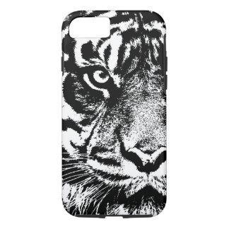 Black White Sumatran Borneo Tiger Eye Artwork iPhone 7 Case