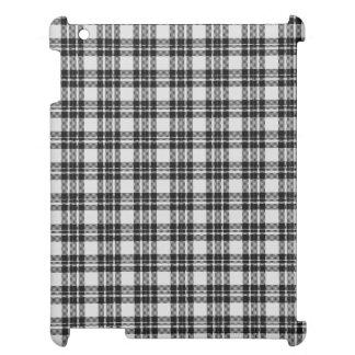 Black&white Tartan Cover For The iPad 2 3 4