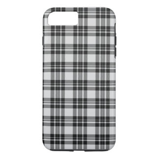 Black&white Tartan Phonecase iPhone 8 Plus/7 Plus Case