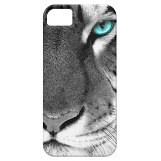 Black White Tiger iPhone 5 Case