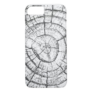 Black & White Tree Trunk Contemporary iPhone 8/7 Case