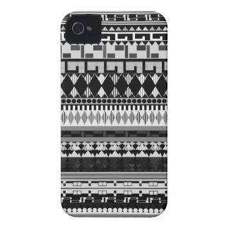 Black & White Tribal Case-Mate iPhone 4 Case