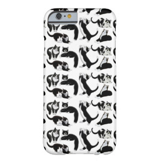 Black White Tuxedo Cats iPhone 6 Case