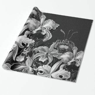 Black&White Vintage Flowers