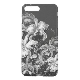 Black&White Vintage Flowers iPhone 7 Plus Case