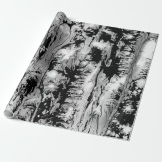 Black, white water texture design, marbling paper, wrapping paper