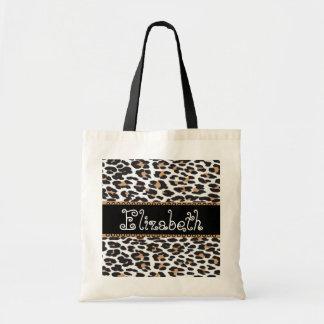 Black & White Wedding FavorLeopard  Bridesmaid Bag