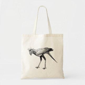 Black & White Wild Secretary Bird Bags