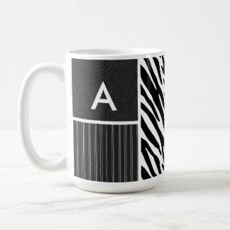 Black White Zebra Stripes Mug