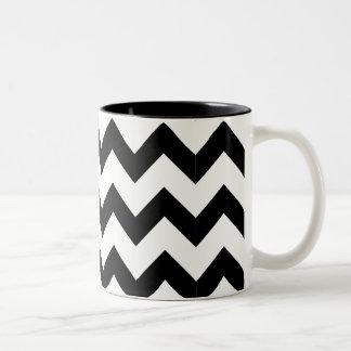 Black & White Zig Zag Mug