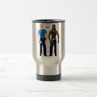 Black&WhiteCop Travel Mug