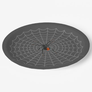 Black Widow 9 Inch Paper Plate