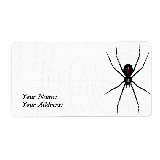 Black Widow design