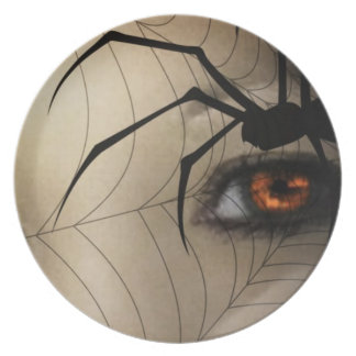 Black Widow Dinner Plates