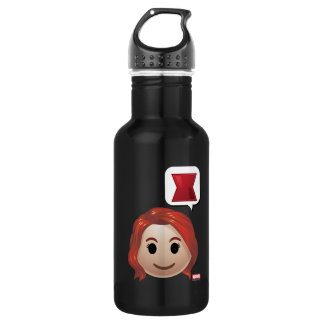 Black Widow Emoji 532 Ml Water Bottle