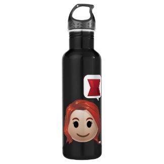 Black Widow Emoji 710 Ml Water Bottle
