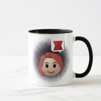Black Widow Emoji Mug