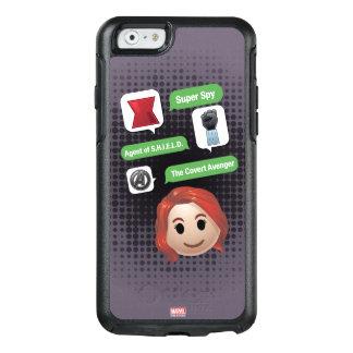 Black Widow Emoji OtterBox iPhone 6/6s Case
