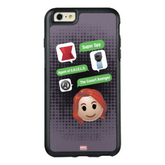 Black Widow Emoji OtterBox iPhone 6/6s Plus Case