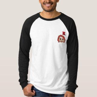 Black Widow Emoji T-Shirt